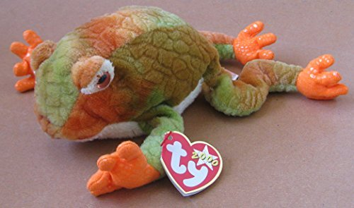 TY Beanie Babies Prince the Frog Plush Toy Stuffed Animal