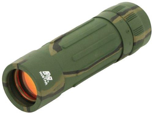 Nc Star N1225R 12X25 Black Monocular-Ruby Lens