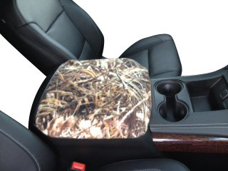 Chevy Silverado LTZ 2007-2013 Truck Auto Center Console Armrest Cover Protects from Dirt and Damage Renews old damaged consoles- Marsh Oak (Silverado Center Console Box compare prices)