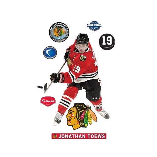 NHL Jonathan Toews Wall Decal Fathead Wall Stickers & Murals autotags B0023T9L92