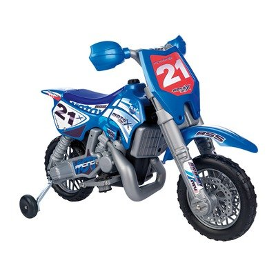 Febercross Sxc 6V Dirt Bike In Blue