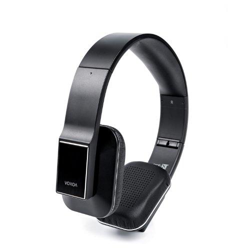 Voxoa® Hd Wireless Stereo Headphones (Black) Bluetooth 4.0, Aptx, Aac, Nfc, Hd Audio