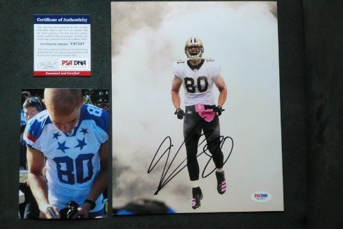 Jimmy Graham Hot! signed New Orleans Saints 8x10 photo PSA/DNA cert PROOF!! at Amazon.com