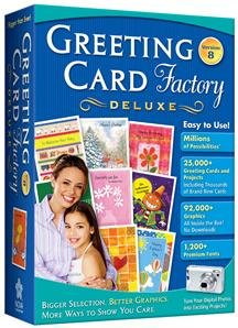 GREETING CARD FACTORY DELUXE 8.0 (SOFTWARE -