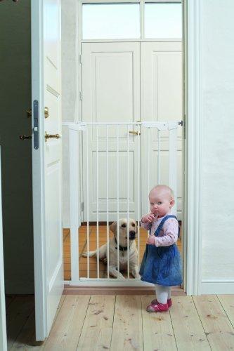 Baby Dan Cancelletto extra alto Pet Gate, bianco