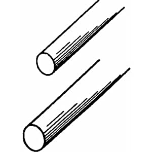 """K&S Music Wire 0.047"""" D X 36"""" L Pack"""