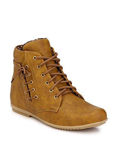 Wave Walk Men Trendy Synthetic Leather Cheeku Boots  available at amazon for Rs.599