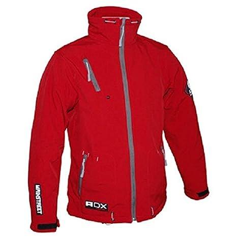 Veste moto ADX MAINSTREET - Textile - Rouge