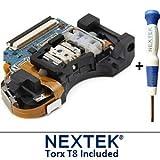 New - Sony PS3 Laser Lens (KES-450E/ KES-450EAA/ KEM-450E/ KEM-450EAA) + Nextek® Torx T8 Security Screwdriver