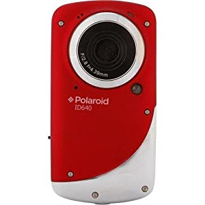 Polaroid iD640 720p HD Flash Memory Camcorder | Red