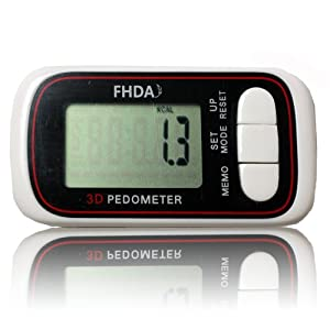 FHDA 6-Mode 3D Digital Pocket Pedometer