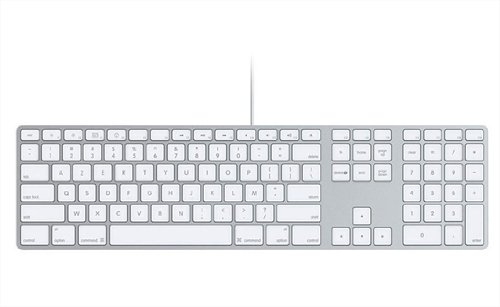 Clavier d'ordinateur APPLE MB110 BLANC