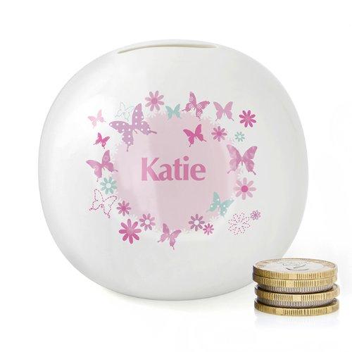 personalised-bone-china-pink-butterfly-money-box