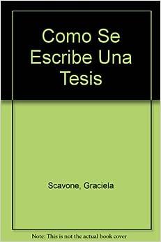 Como se escribe una tesis graciela scavone - Como se construye una chimenea ...