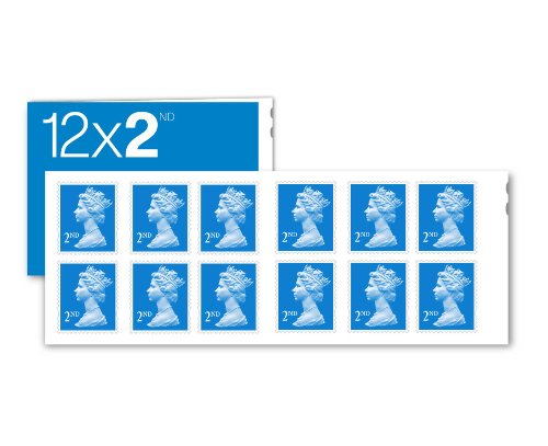 12-x-2nd-class-standard-self-adhesive-stamp-sheet-royal-mail-post-office