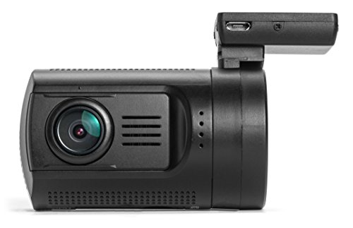 Black Box Mini 0806 GPS Ultra HD 1296P Dash Cam Car DVR Video Recorder - Ambarella A7LA50 + OV4689 - Wide Angle 6-Glass Lens with Parking Mode - SOS, FCWS + LDWS + HDR Night Vision G-Sensor Motion Detection - (256GB Capable) Dual Micro SD Slots