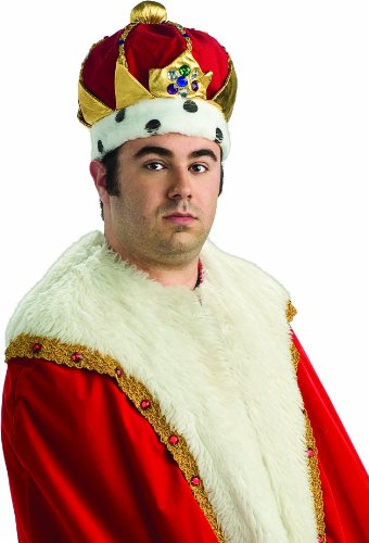 Rubie's Costume Co Deluxe Royal Kings Costume Crown