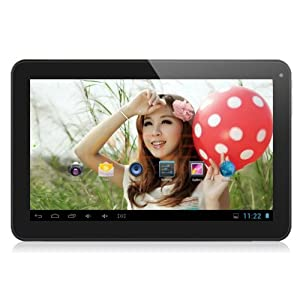 10.1'' Inch Rooted Android 4.4.2 kitkat 16GB Dual Heart Tablet PC, Wifi, HDMI, Bluetooth [2014] (Black- Kitkat)
