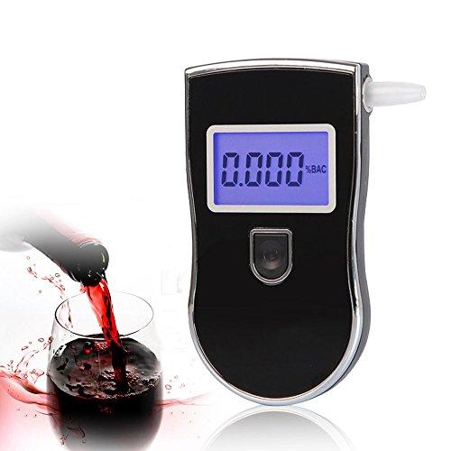 Contever® Portable Breath Digital Alcootests Police Alcool Testeur, Éthylotest numérique avec écran LCD--Style 1