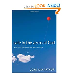 Safe in the arms of God child's death