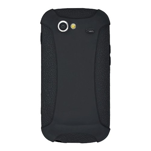 Amzer Silicone Skin Jelly Case for Samsung/Google Nexus S  - Black