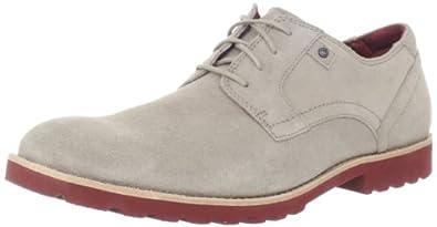 (好评)Rockport 乐步 男士真皮牛津鞋 正装鞋 休闲鞋 多色 Ledge Hill Plain 折后 $81