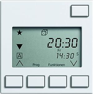 Gira 130903 Aufsatz Jalousie 2 Sensorauswertung System 55, reinweiß  BaumarktBewertungen