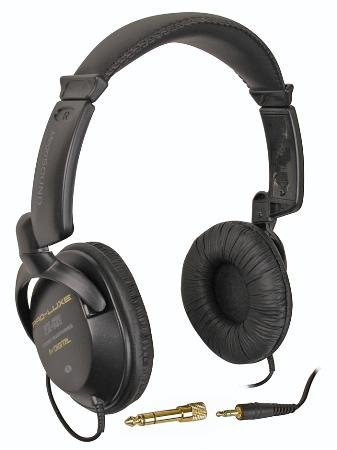 Uni-Tone Heavy Duty Full Size Stereo Headphones 9Ft Straight Cord 40Mm Diaphragm Drive Units