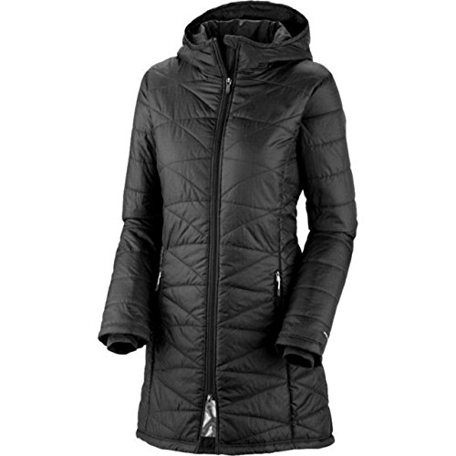 COLUMBIA-WOMENS-MORNING-LIGHT-OMNI-HEAT-LONG-JACKET-COAT-PUFFER