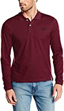 Jack & Jones - Polo - Manches longues Homme -  Rouge - Large