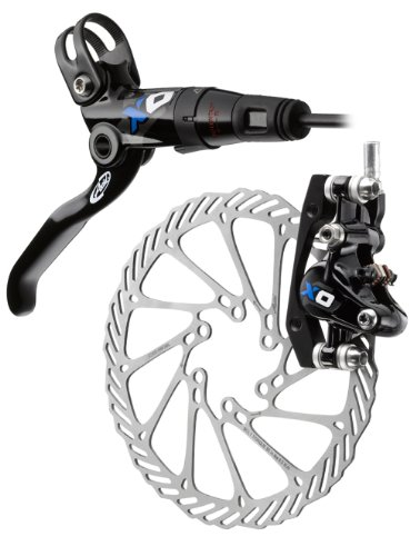 Buy Low Price Avid Elixir X.0 185mm Left/Front Disc Brake (Black/Blue) (00.5016.159.110)