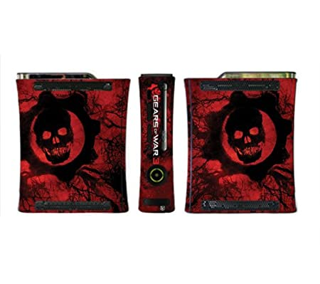 Gears Of War 3 Limited Edition Game Skin for Xbox 360 Console