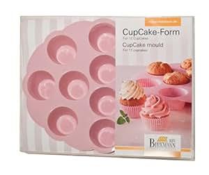 Birkmann 250543 Cup Cake-Form aus Silikon
