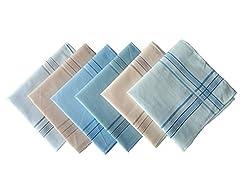 Krayonz Mens Mercerised Handkerchiefs-10006003200