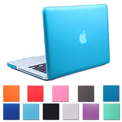 "HDE Matte Hard Shell Clip Snap-on Case for MacBook Pro 13"" (Non-Retina) - Fits Model A1278 (Teal)"