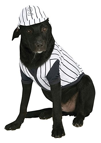 costume accessories - Cat & Dog Costume Baseball Player Small