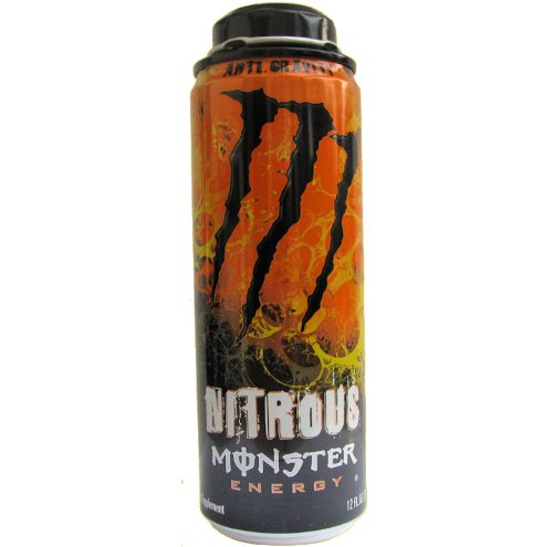 Monster Nitrous Energy Drink Anti Gravity 12 Ounce Cans