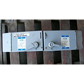 Cutler- Hammer- 60 Amp Switch- FDPWT-2222R