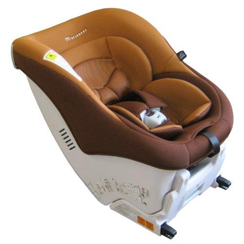 カーメイト エールベベ キュートフィックス 新生児から4歳用チャイルドシート ISOFIX取付(軽量コンパクトタイプ) キャラメルタルト