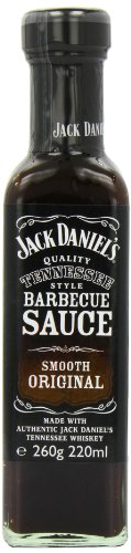 Jack Daniel discount duty free Jack Daniels Smooth Original BBQ Sauce 260 g (Pack of 8)