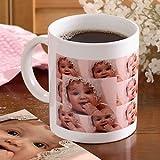 Personalized Photo Collage Ceramic Coffee Mug