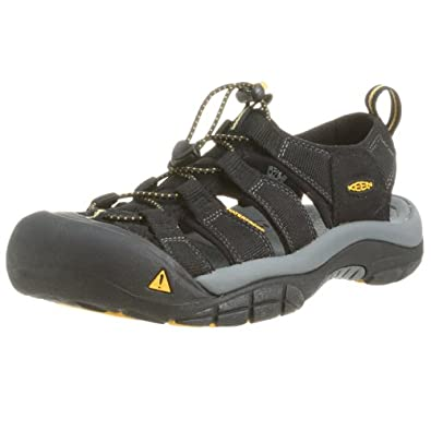 Keen Men's Newport H2 Sandal,Black,8 M US