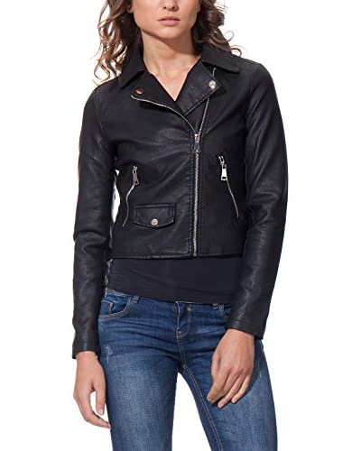 OSLEY PARIS Giacca Biker With Pocket Detail