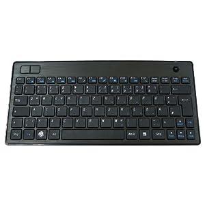 KeySonic KSK-3201 RF schnurlos Tastatur mit Trackball ...