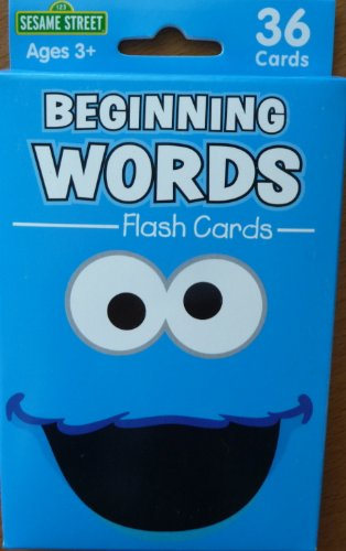 Beginning Words Flash Cards Sesame Street