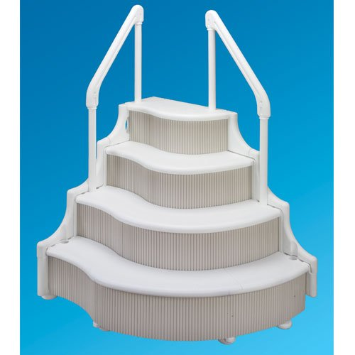 Black friday grand entrance steps for above ground pools for Cheap above ground pools for sale