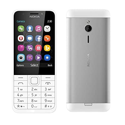 Nokia 230 Dual Sim (Black & Dark Silver)