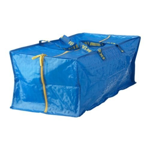 Ikea Frakta Storage Bag,Extra Large - Blue (1)