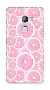 Amez designer printed 3d premium high quality back case cover for LeEco Letv Le Max (melon pink )