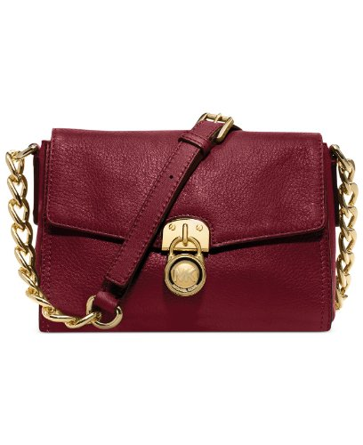 Michael Michael Kors Hamilton Small Messenger Bag (Cinnabar)